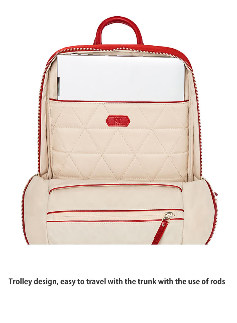 90 Points Fashion City Women Lingge Backpack