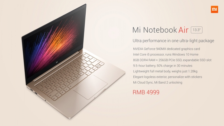 Фото Mi Notebook Air