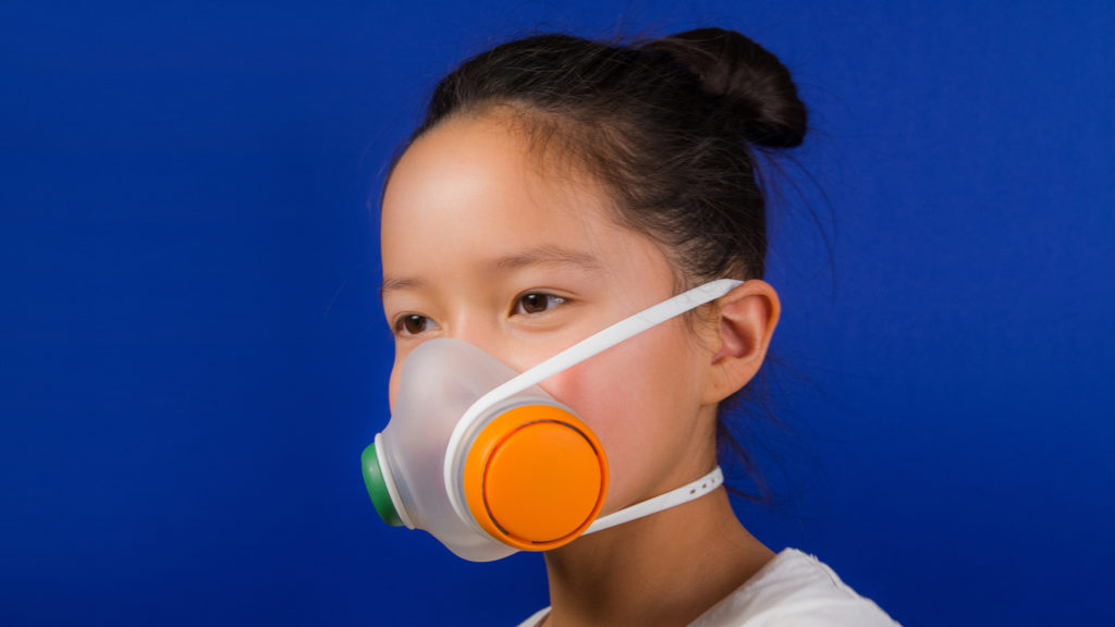 Stylish pollution masks